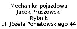 Mechanika pojazdowa Jacek Pruszowski Rybnik ul. Józefa Poniatowskiego 44